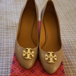 Tory Burch Claire Closed Toe Wedge